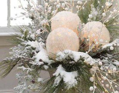 La d coration de no l id e 2 no l pinterest - Grosses boules de noel exterieur ...