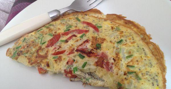 Breakfast omelette, Omelettes and Breakfast on Pinterest