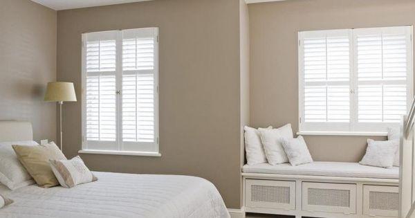 Mooie warme zandkleur op de muur idee n voor het huis pinterest muur kleur en doors - Beige warme of koude kleur ...