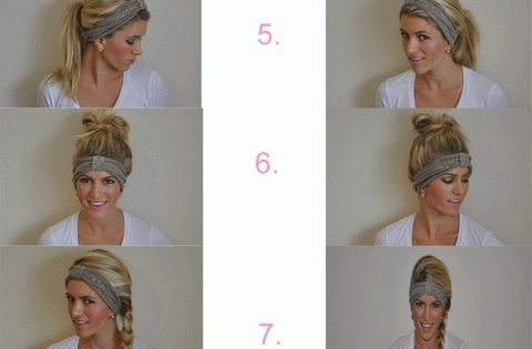 10 ways to wear a headband