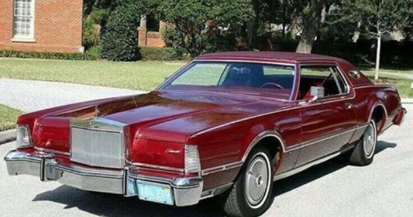 Elvis Presley Car The Maroon 1974 Lincoln Continental Mark Iv That Elvis Gave To Billy Smith 3 Elvis Presley Photos Graceland Lincoln Continental
