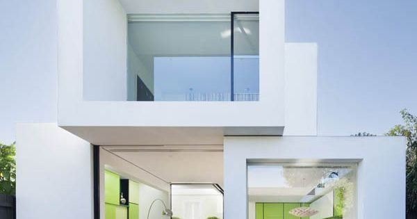 Shakin Stevens House by Matt Gibson Architecture modern house design living room
