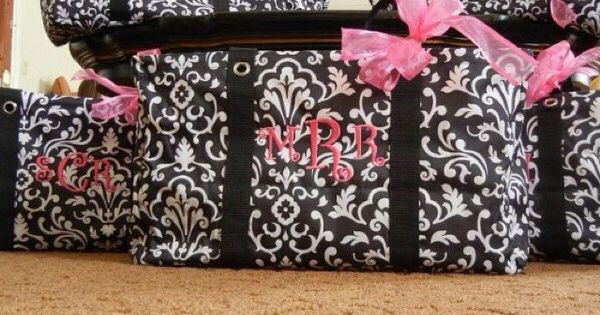 Thirty one large utility tote as bridesmaid gifts they