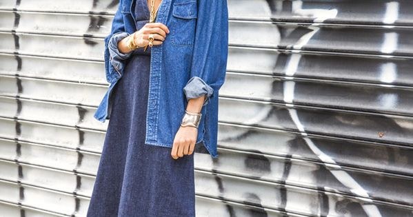 3 Ways to Wear a Dress Over Pants