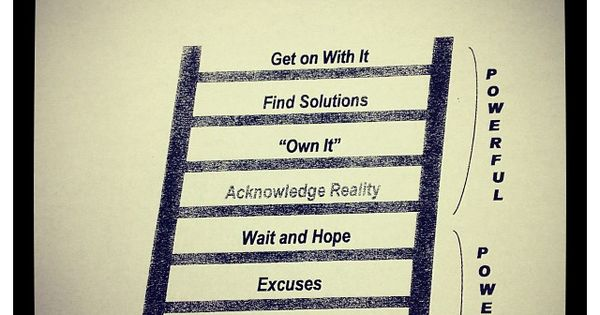 Accountability Ladder Quotes Pinterest