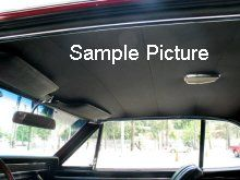 1963 Vw Beetle Sunroof Bow Style Headliner Kit Volkswagen Beetle Headliner Car Auto Repair Repair