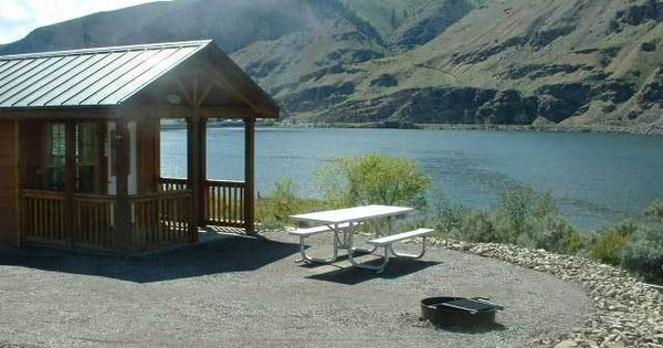 Trade the tent for these washington state parks with for Washington state park cabins