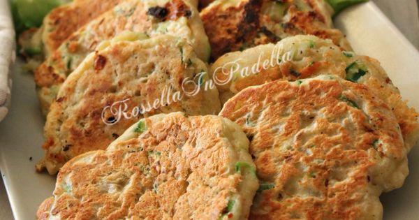 Focaccine veloci in padella con tonno e zucchine tonno for Cucinare zucchine in padella