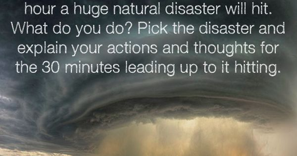 Essay about natural disaster