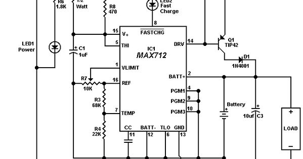 12 v battery charger controller schemes diagrams arduino electronics projects