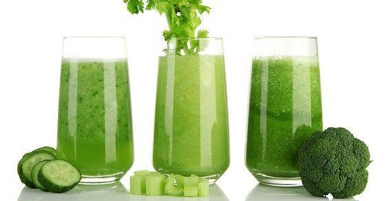 succhi verdi per ricette dimagranti