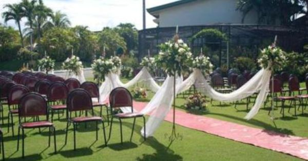 Simple Outdoor Ceremony Decorations: Simple Outdoor Wedding Ceremony Ideas