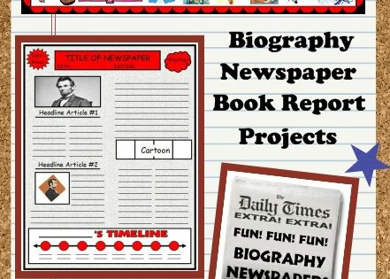 timeline book report