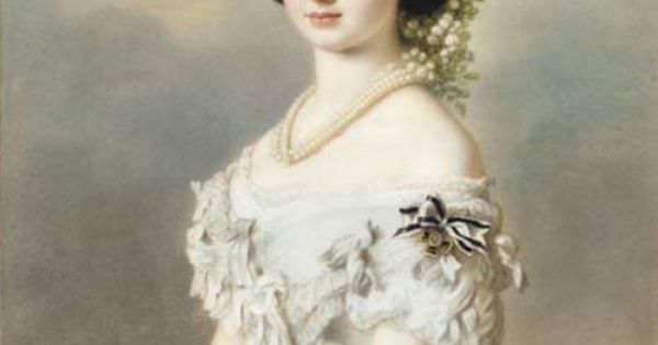 Prussia franz xaver winterhalter and princesses on pinterest