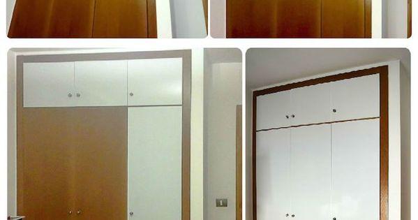 Forrar las puertas del armario con vinilo proceso for Vinilos pared entera