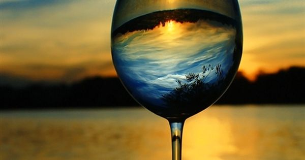 Beautiful photo - A drink of nature.... sunset