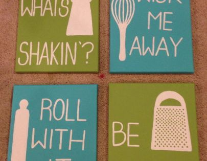 kitchen art Custom Made Quote Canvases. by ClassyCanvasByMaddie on Etsy, $25.00