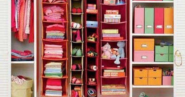 Organizar los armarios de ni os y beb s armario de ni a - Armarios para ninas ...