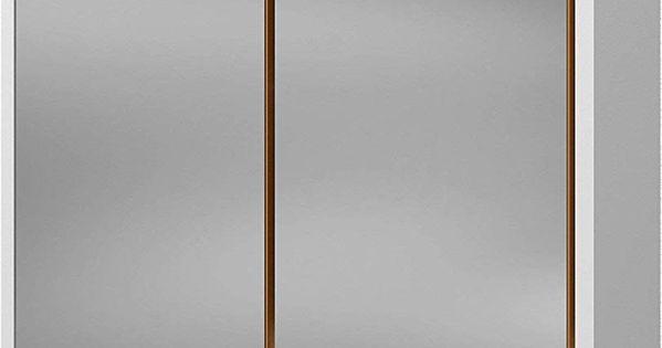 Held Mobel Spiegelschrank Malmo Im Retro Design Weiss Currygelb Spiegel 20 X 60 X 64 Cm Geschenkideen Held Mobel Spiegelschrank Design
