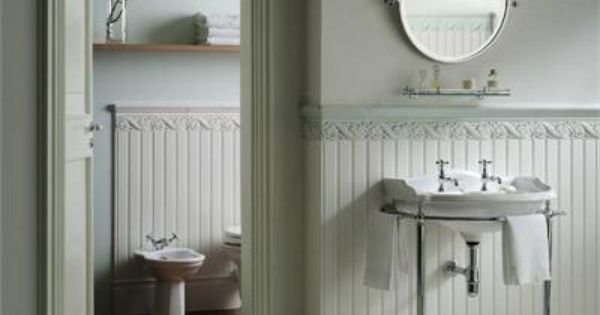 Boiserie White Beadboard Ceramic Tile From Hastings Tile