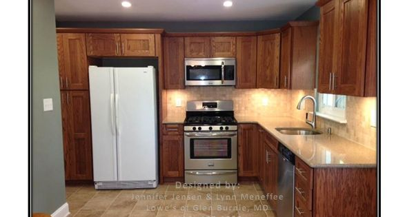 After Aster Kitchen Shenandoah Mission Oak Cabinets