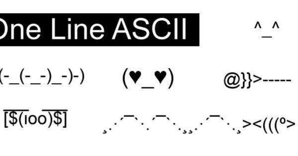 One Line Ascii Art Happy Birthday : One line ascii art interesting stuff pinterest