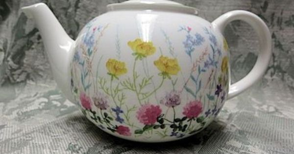 Meadow Bone China English Teapot Tea Pots Bone China Teapots English Teapots