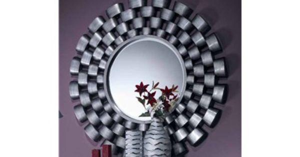 Espejo decorativo circular original y exclusivo espejo for Espejo circular