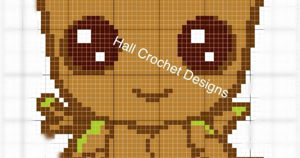 Baby Groot Style C2c Graph And Written Instructions Marvel Cross