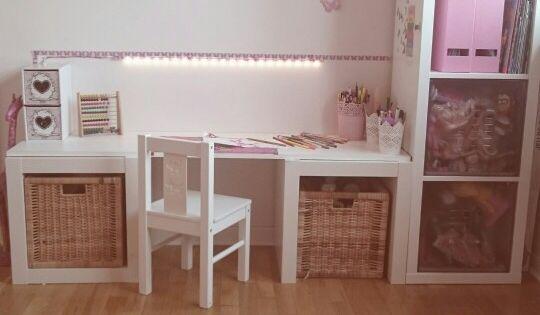 Bureau chambre petite fille inspi chambre enfant for Petit bureau chambre