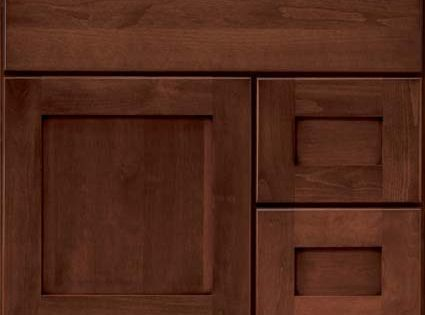 cherry brindle osage shaker 60 double sink bathroom inspirations