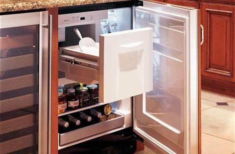 Zibi240hii Monogram Bar Refrigerator Module Custom Panel Kitchen Remodel Small Bar Refrigerator Kitchen Remodel