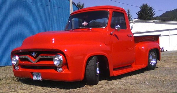 My 55 there will be more classic ford f 100 pickups for Garage ford a lyon
