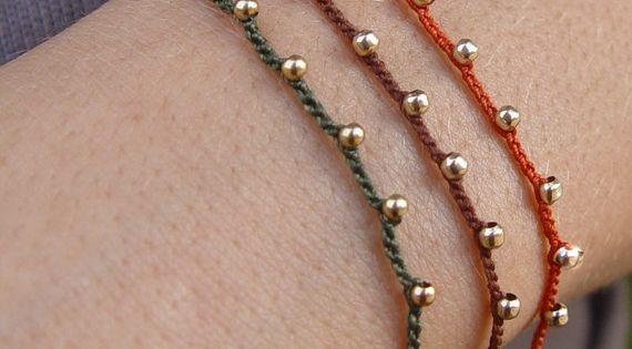 Hand Crocheted Bracelet