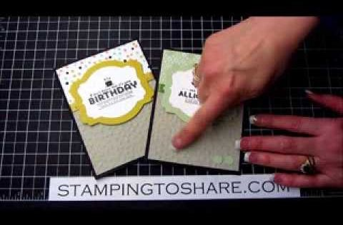 Stamping To Share See Ya Later Sale A Bration Card With How To Video Kay Kalthoff Stampin Up Card Tutorials Stampin Up Cards Stampin Up