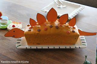 Kerstins Kreative Kuche Dekotipps Fur Die Dino Party Dinosaurier Kuchen Dino Kuchen Dinosaurier Party