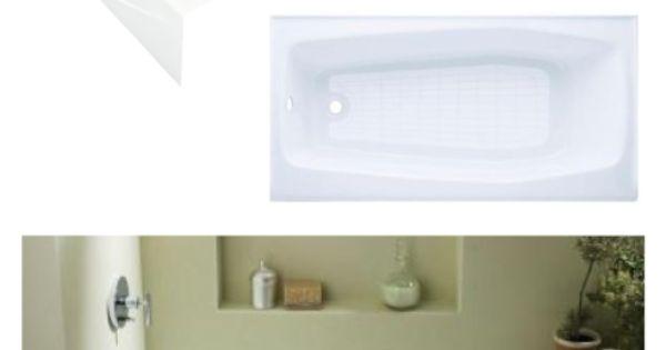 Kohler Villager Tub 349 Bathroom Remodel Ideas Pinterest Tubs Guest Bath And Bathtubs