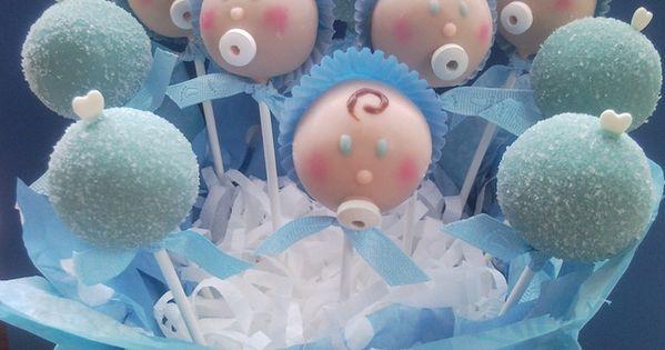 Baby Shower — Cake Pops / Cake Balls, oreo truffles babyshower barselsgave