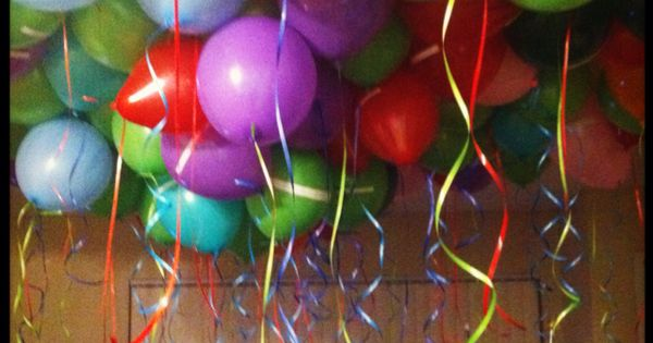 For Our Two Year Anniversary I Got 100 Balloons And Filled