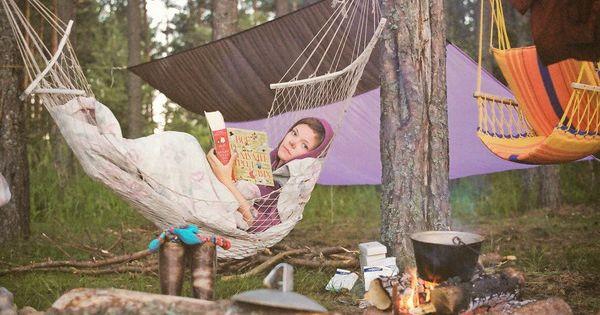 Let's go hammock camping