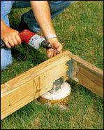 How To Build A Ground Level Deck Ground Level Deck How To Level