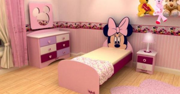 Dormitorios minnie mouse bedrooms dormitorios para ni os for Dormitorios infantiles tematicos