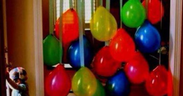 Party Balloon Decoration Without Helium | For The Boys | Pinterest | Balloon  Decorations, Decoration And Balloons