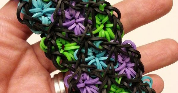 20 Cool DIY Rainbow Loom Bracelets for Kids | Flat wedding ...