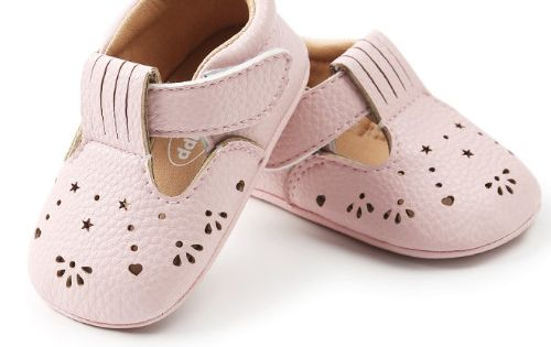 Babyschoenen Yasmin Pink Maat 20 | Babyschoenen, Meisjes