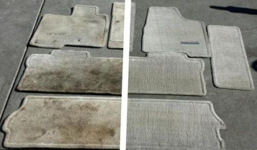 Your Car S Floor Mats Are Disgusting It Doesn T Matter Who You Are They Re Gross But Why Should Have To Go Clean Car Carpet Car Cleaning Hacks Car Cleaning