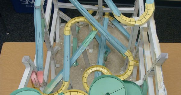 paper roller coasters com gallery