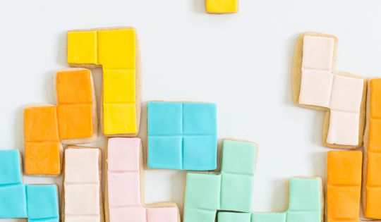 DIY Tetris Cookies | Birthdays, So cute and Cookies