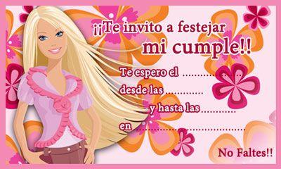 Megapost Tarjetitas De Invitaciones Infantiles Actualizado