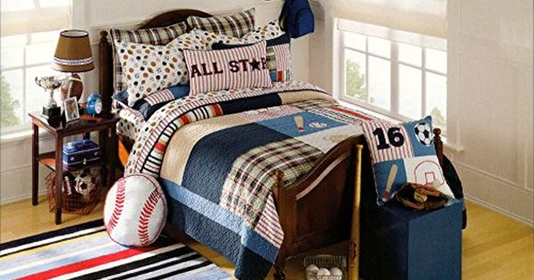 Toddler Bedding Quilt Cover Set All Stars Print Cotton